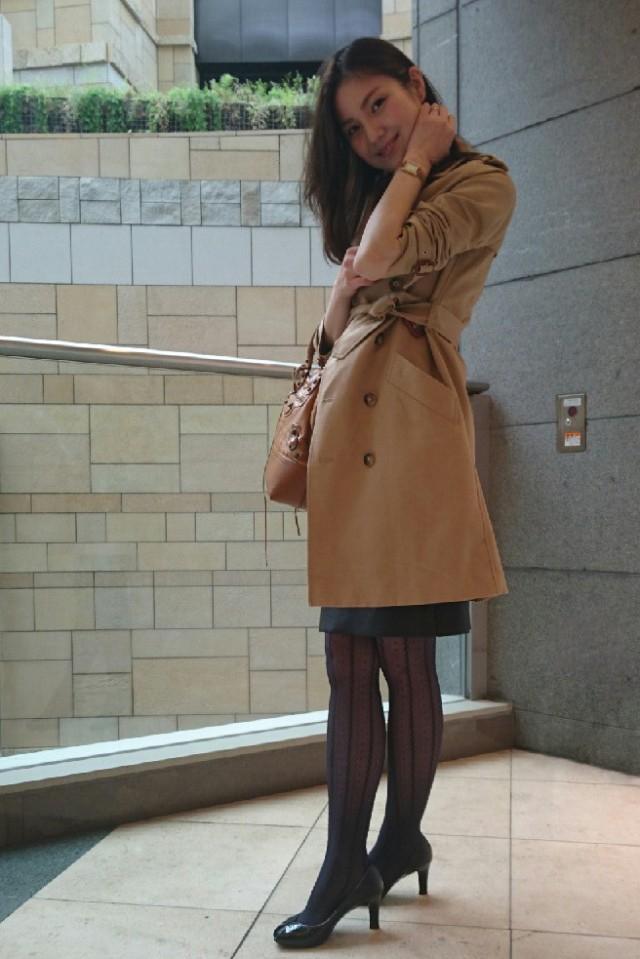 【#ときめきトレンチ #OOTD】高橋絵美さん_1