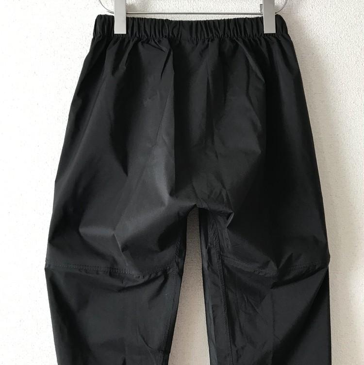 透湿レインスーツ STRETCH(品番:R-006/色番:019 杢ブラック/上下組)¥4900/ワークマン