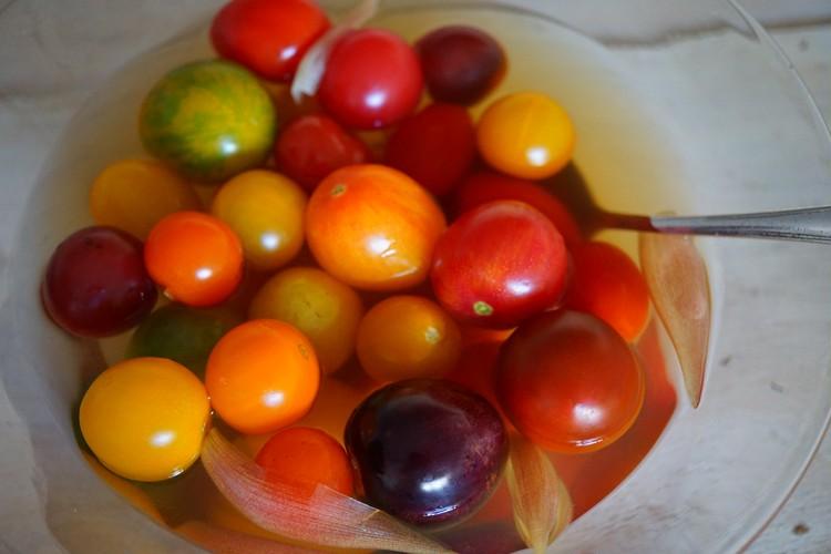4.プチトマトのピクルス風(冷蔵庫で3~4日保存)