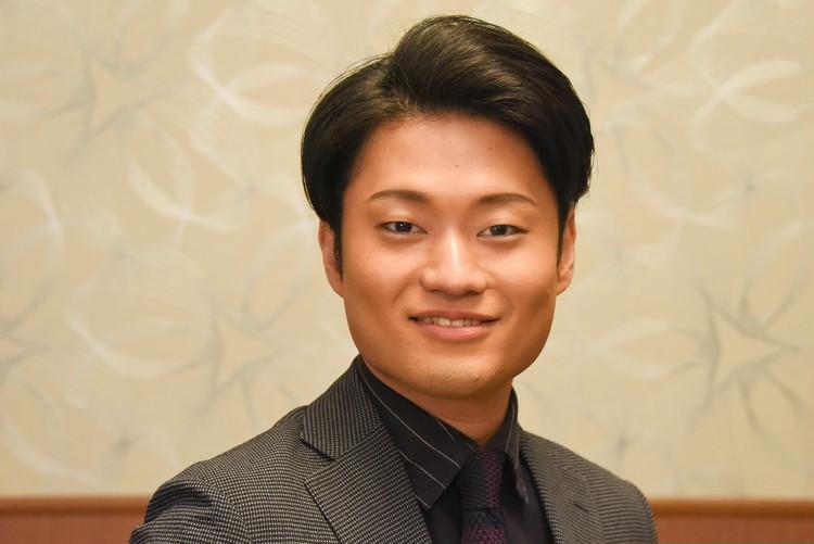 中村福之助 花形 インタビュー写真