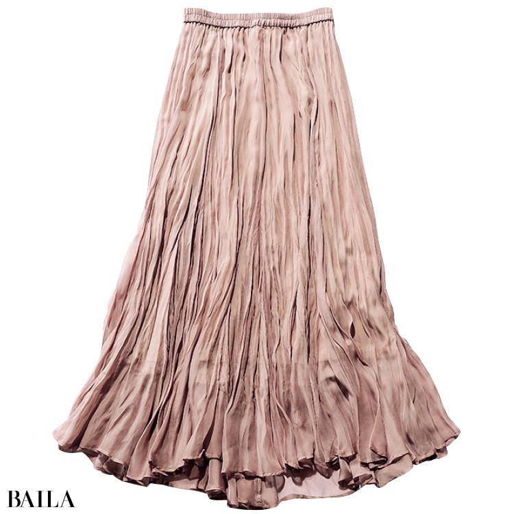 ココ ディールのマキシ丈スカート
