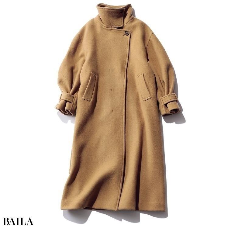 フレイ アイディーのボリューム袖コート