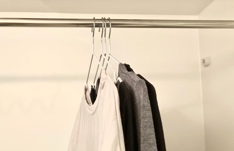 ギュッとまとまった洗濯物