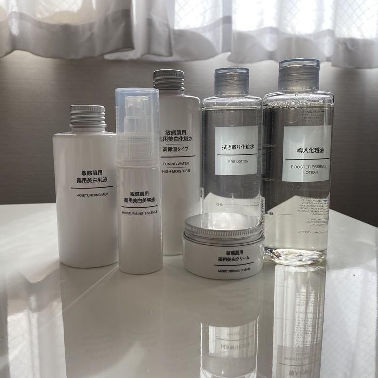 拭き取り化粧水に導入化粧液…【無印スキンケア】を敏感肌が全商品買ってみた_5