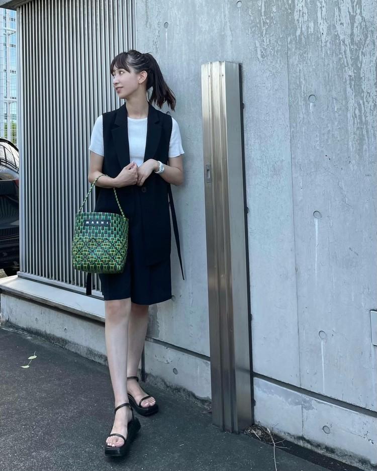 秋口まで使える【プチプラ】大人ショートパンツと万能ベスト♡_4