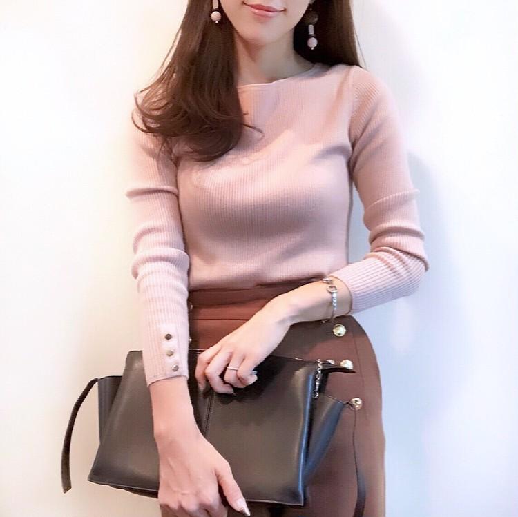 この秋オフィスで着たい、AOKIのキレイ見えジャケットと華やかニット_5