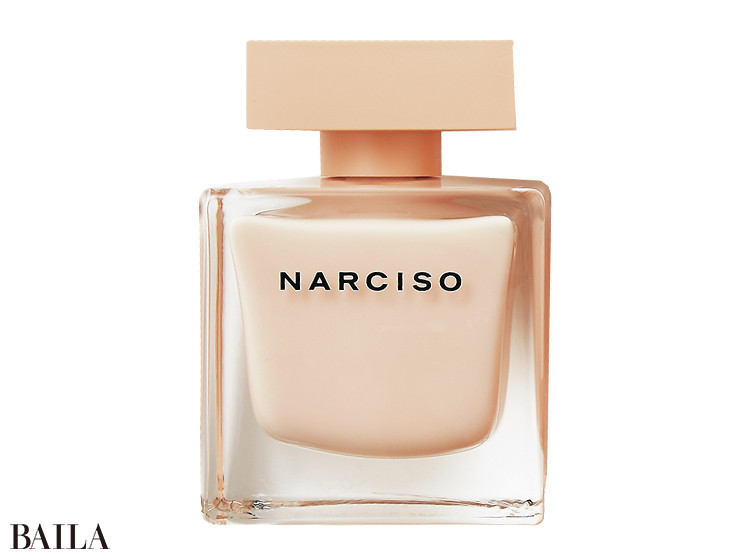「ベッドの中のぬくもりを思わせる官能的な香りを記憶にとどめていただきたくて」。90㎖ ¥14900/NARCISO RODRIGUEZ PARFUMS