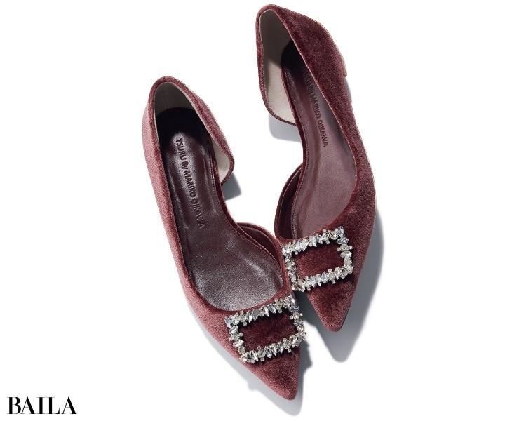 ツル バイ マリコ オイカワの靴