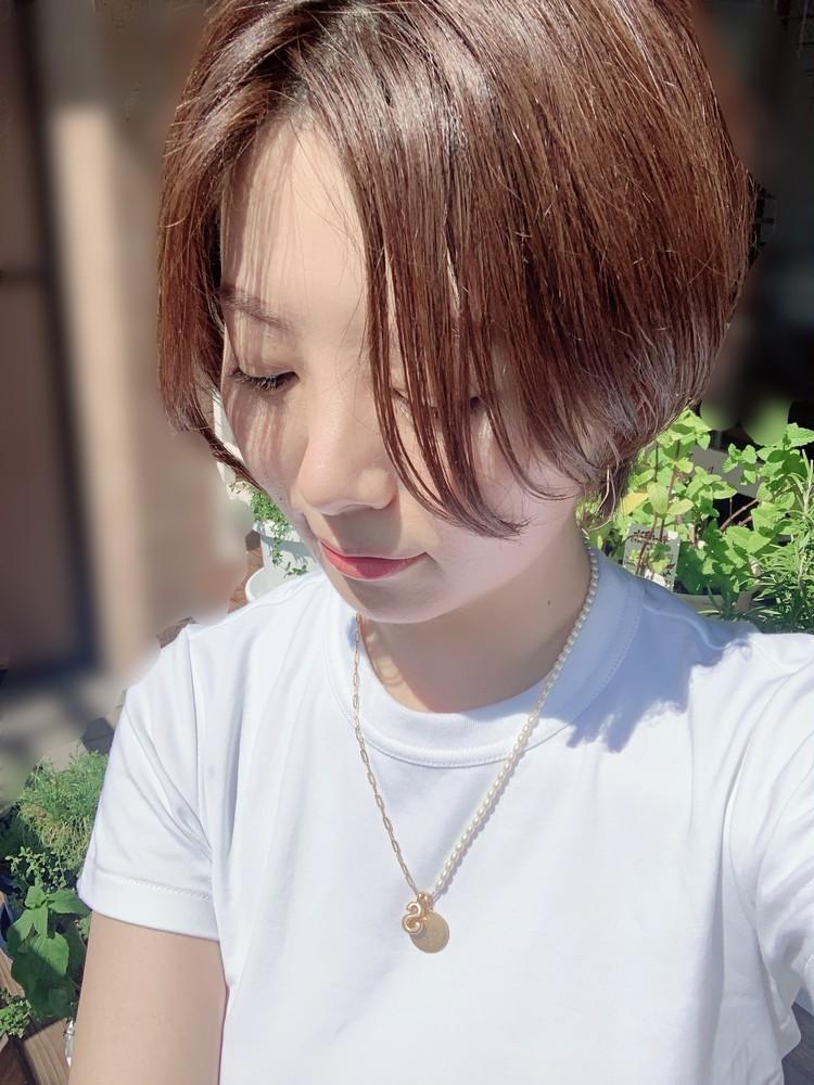 【ZARA】パールのイニシャルネックレスが可愛い_4