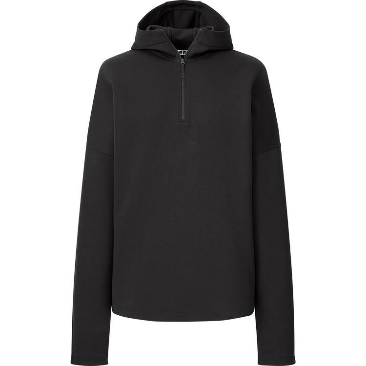 スウェットハーフジッププルパーカ(長袖) セットアップ可能¥3,990