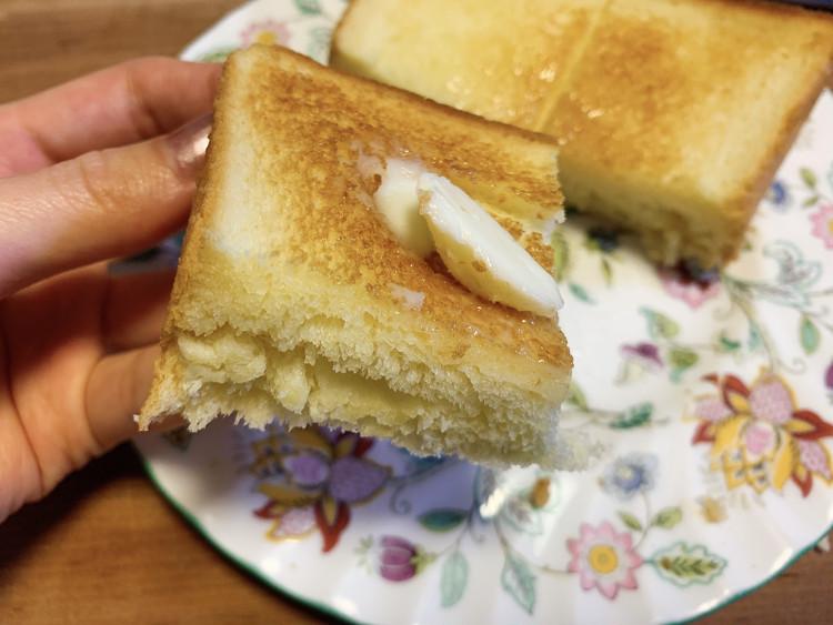 """【速報】モスの""""バターなんていらないかも(略)食パン""""を実食_5"""