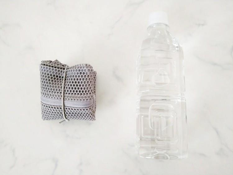 折り畳んだ立体メッシュタテに使える仕分けケース