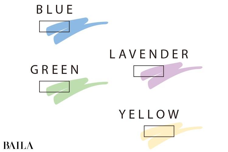 ブルベ×女顔の人は青や赤紫を含んだ色