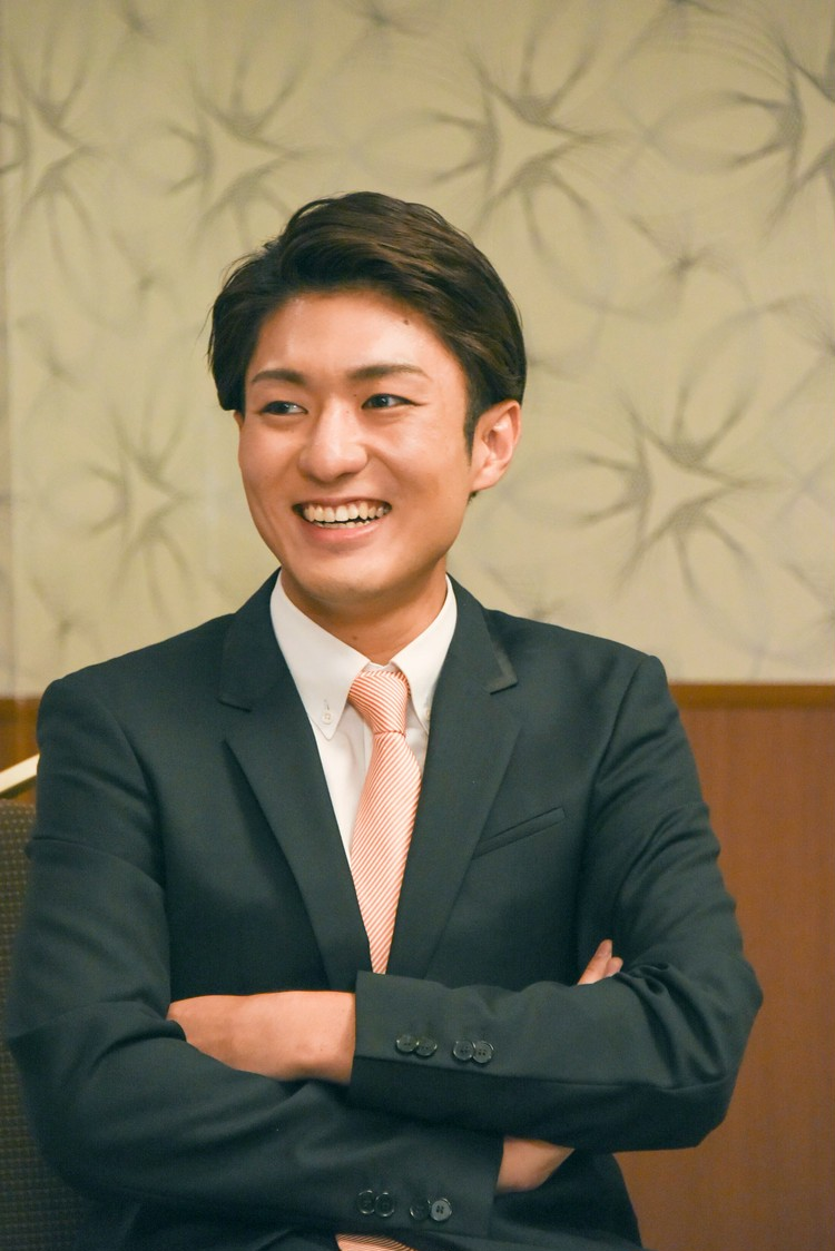 中村橋之助さんインタビュー写真