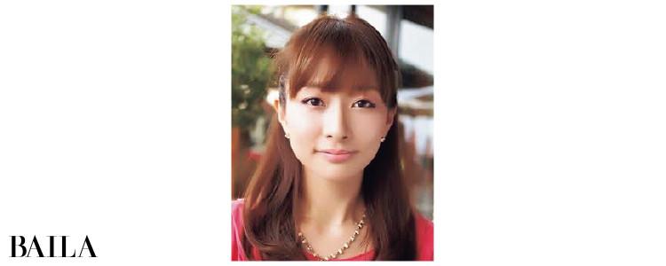 石井美保さん30歳の頃