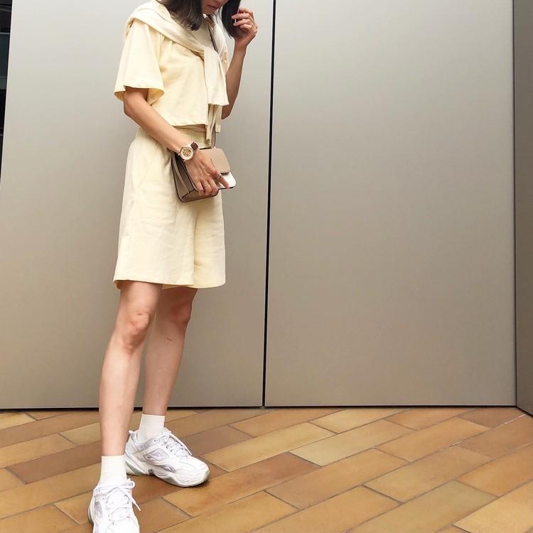 H&Mのセール品♡スウェットセットアップがかわいい_1