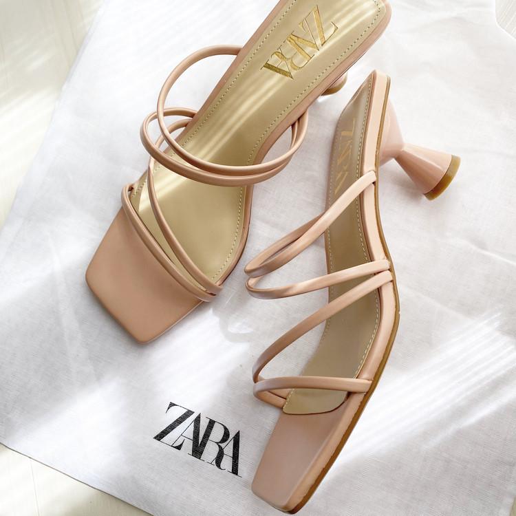 【ZARA購入品】春に向けてピンクサンダルを新調_2