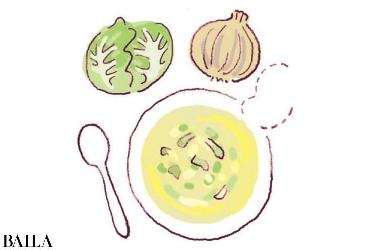 野菜中心のやさしい食事を