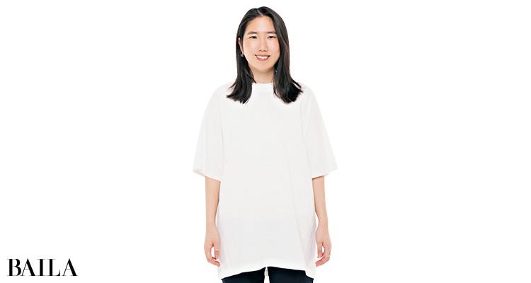 サクラのTシャツを編集Wが試着