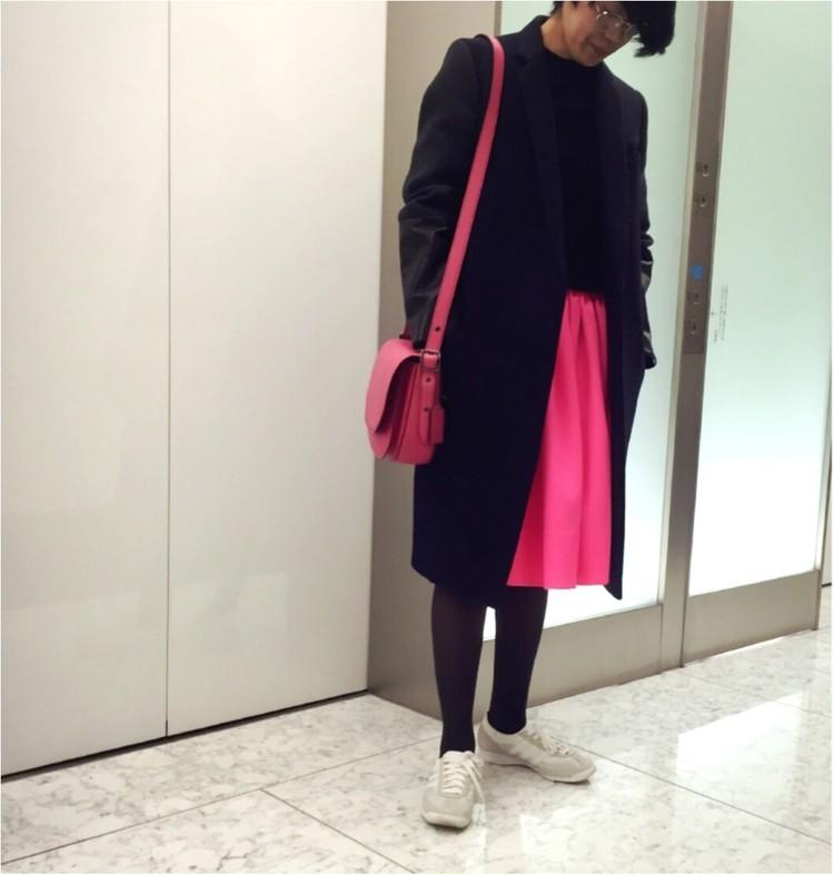 【#OOTD】副編Y、会食がある日のとっておきのスカート。_1