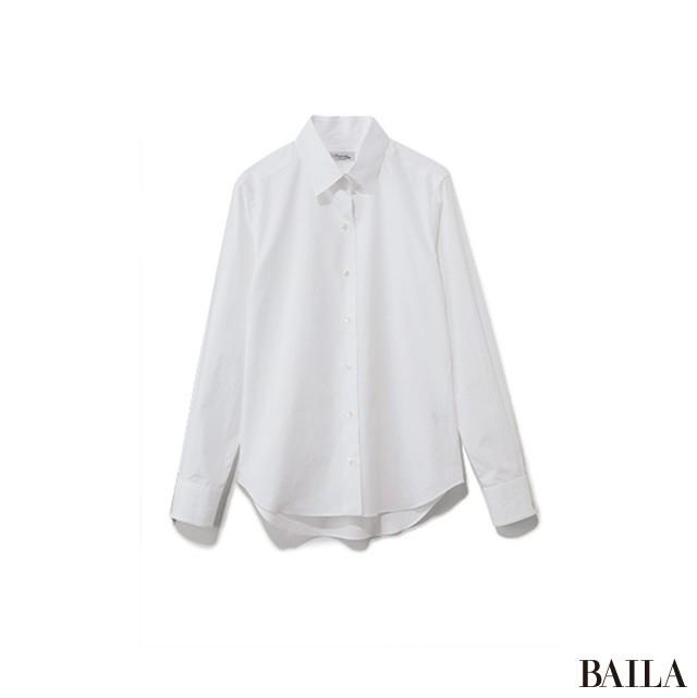 ロング&リーンな通勤スタイルは、白シャツでさらに好感度あげ!_2_2