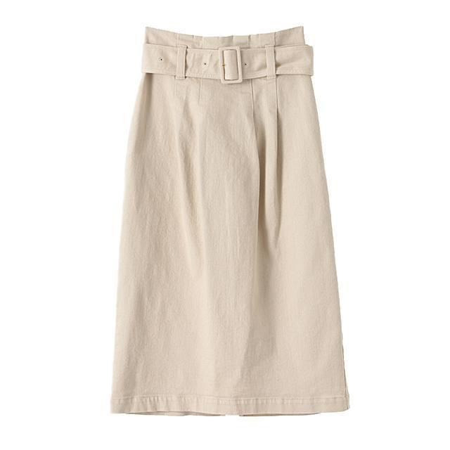 すとん、ときれいなデニムスカート【晴れた日のポチりたガール】_3