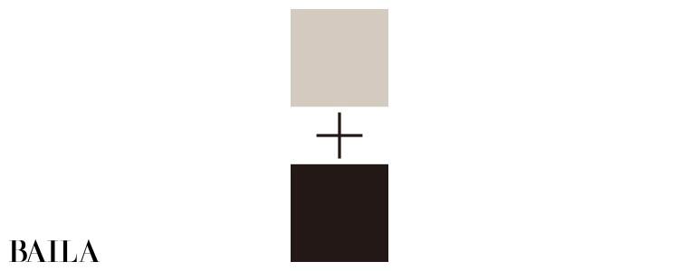 ブルベ・男顔に似合うのはグレーベージュ+黒