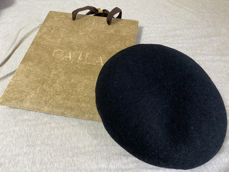 【格上げコーデ】黒ベレー帽1つあれば世界が変わる_1