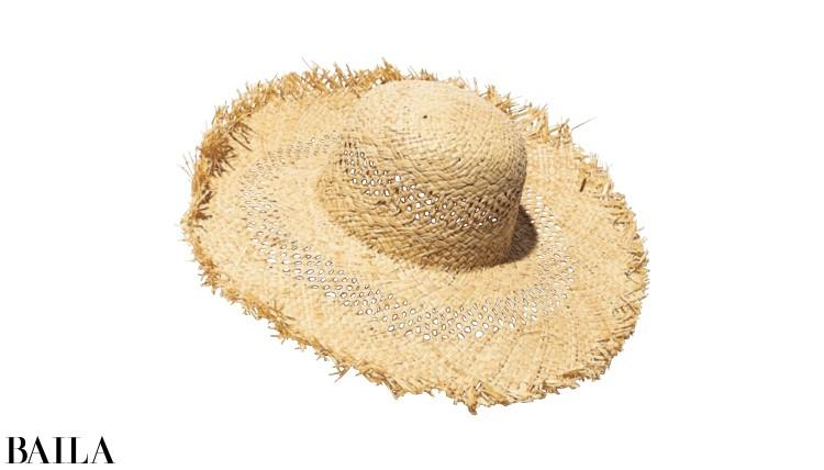 帽子¥7000/サードマガジン(ベックソンダガード)