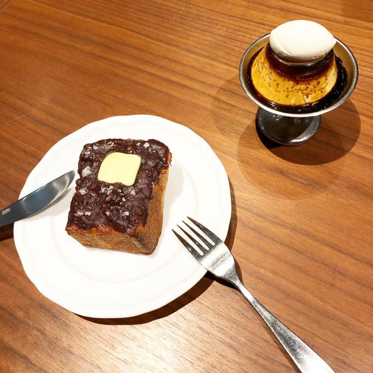 SNSで話題のパーラー大箸のプリンとあんバターを食べてきた!_3