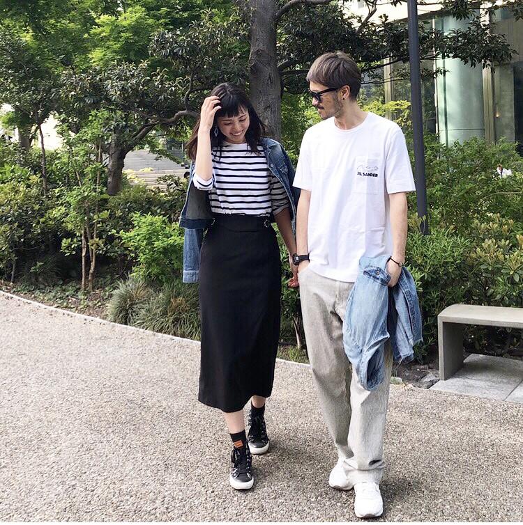 【休日】大人カジュアルスニーカーコーデ_2