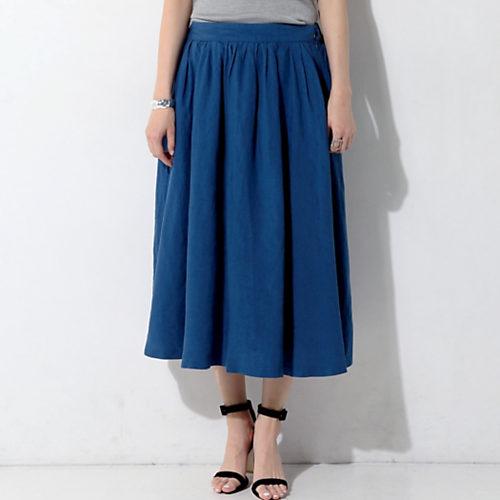 今週も乗り切るために♡ 着やせ&美女感UPの【きれい色スカート】スタイル5_11