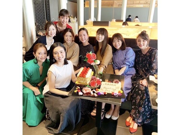 【バイラーズ女子会】GINZA SIXでオシャレアフタヌーンティー♡_8