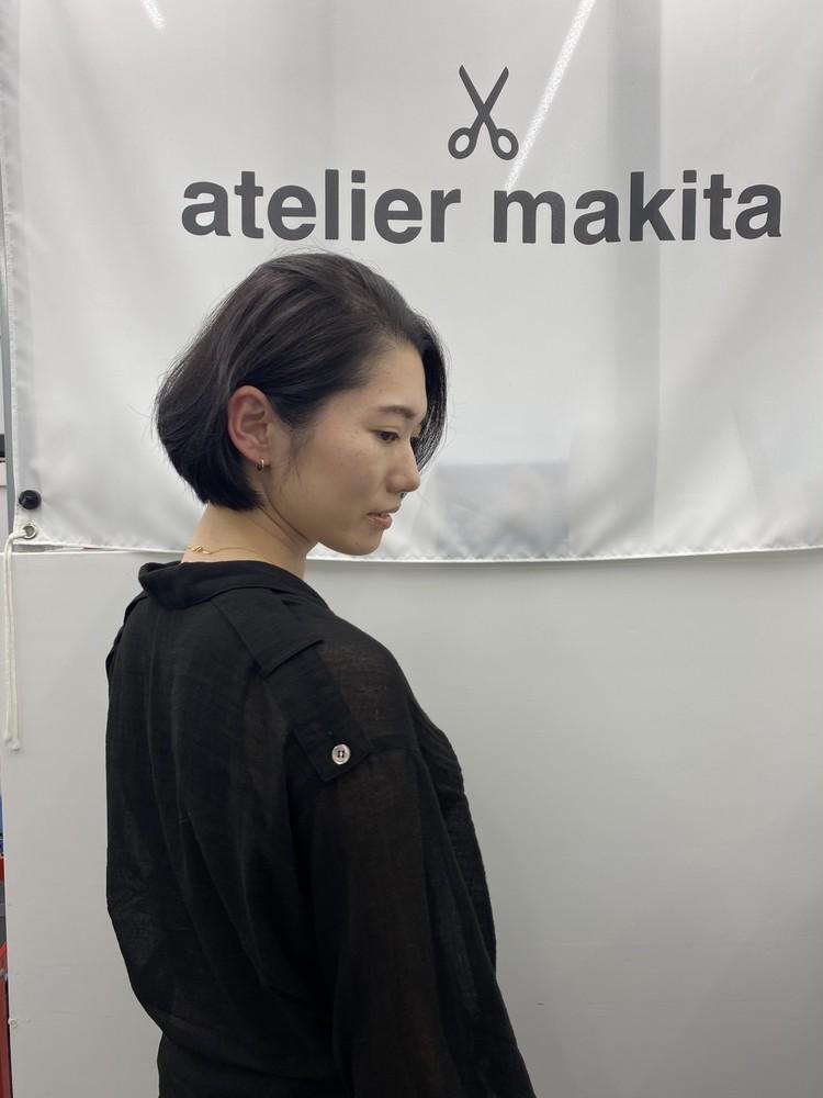 髪型変えて、気分転換(^^)_3