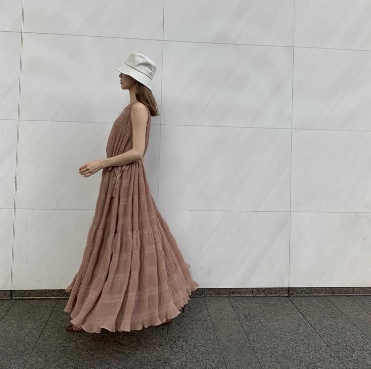 ALLプチプラ♡服&サンダルは「ブラウン」投入で高見え狙い!_10