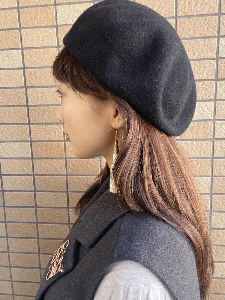 【格上げコーデ】黒ベレー帽1つあれば世界が変わる_3