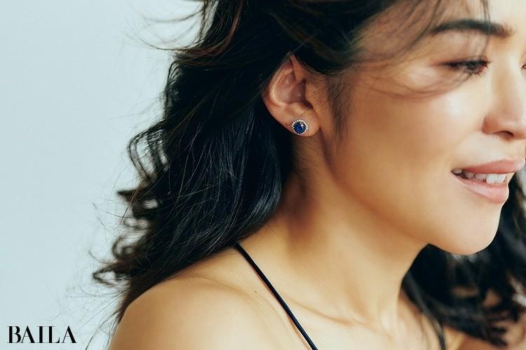 サファイアのブルーは、ダイヤモンドよりも魅力的!