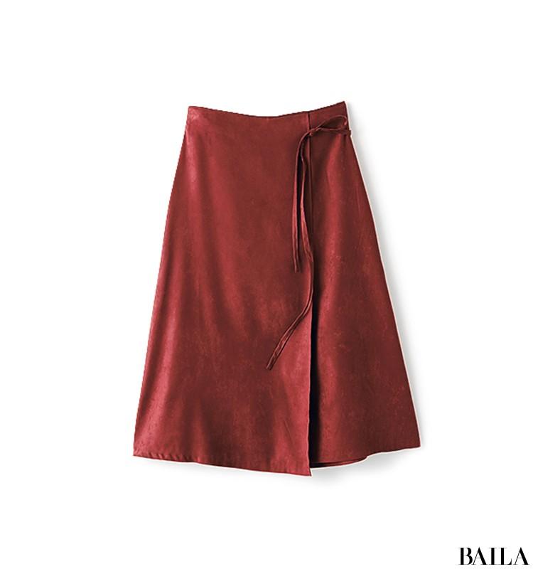 老舗企業に訪問する日は、きれいめブラウス×スカートの好感度スタイル【2019/10/9のコーデ】_2_2