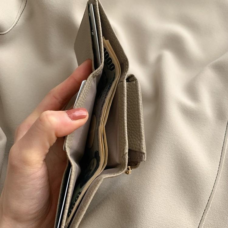 【BAILA4月号】付録のミニ財布がかわいい_4