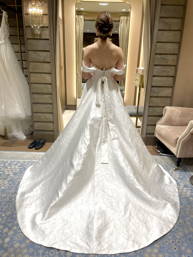 準備再開【パレス花嫁】2021SS新作ドレスを試着しました♡_6