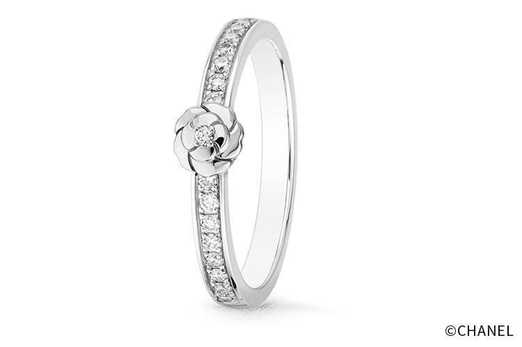 シャネル 結婚指輪 カメリア コレクション