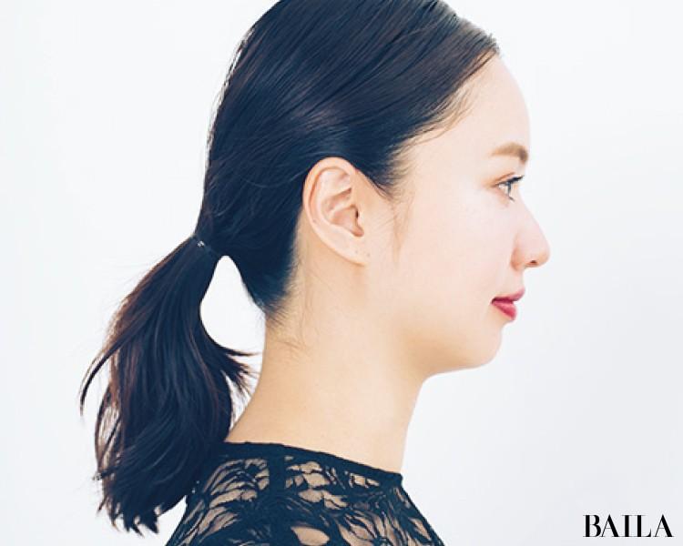 【ビジューヘアピンMIXづけ】でひとつ結びをおよばれヘアスタイルに!<動画あり>_6