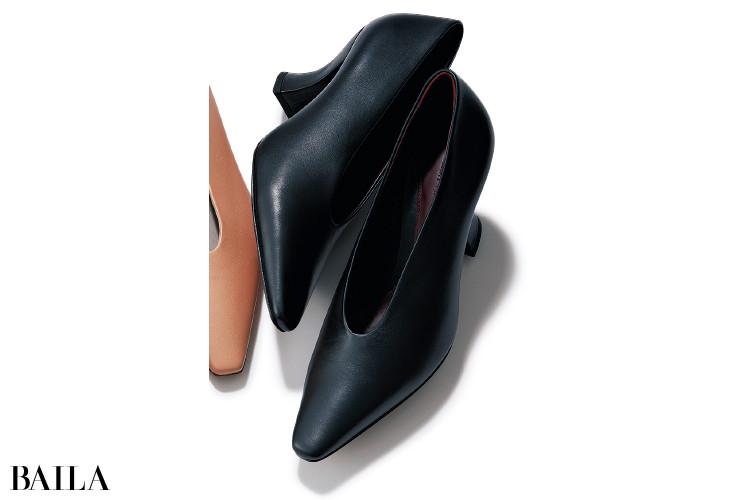ボッテガ・ヴェネタの靴「アーモンド パンプス」