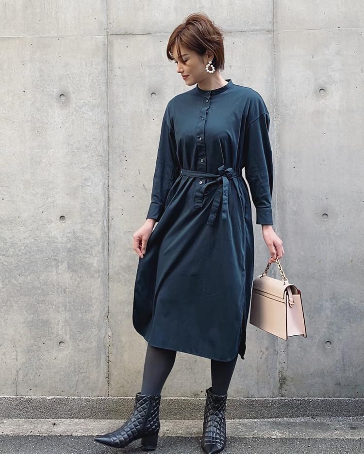 山嵜由恵さんのユニクロコーデ