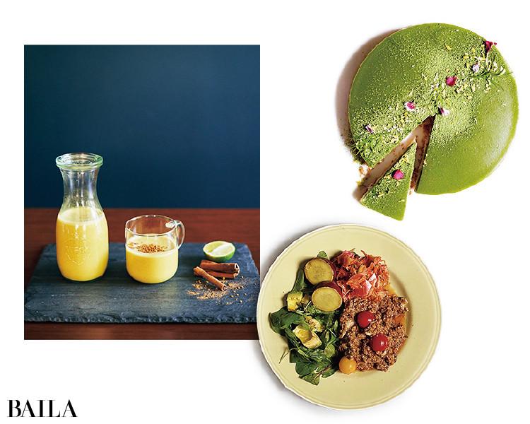 スーパーフードにも精通。 体の中からしっかり整う食生活