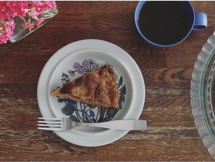 りんごのくるみのケーキレシピ