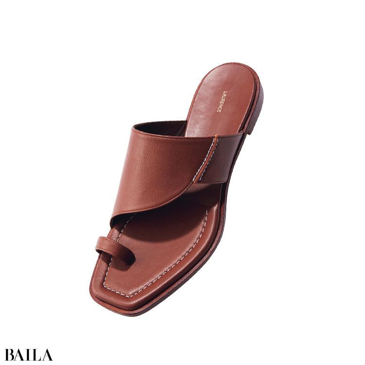 3独 自の木型を使用した東京ブランド。 足になじむカウレザー(。1.5)¥ 440 00/ザ・グランドインク(ロランス)
