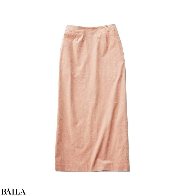 女子会の日は、チョコブラウン×ミルクピンクの大人の甘めスカートスタイル【2019/12/7のコーデ】_2_3
