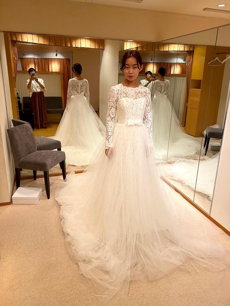 【Wedding】ドレス試着すべて見せます♡/後半①_3_2