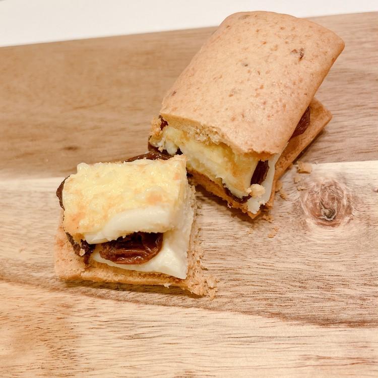「Huffnagel(フフナーゲル)」の「オーツクッキー バタークリーム フィリングセレクション」の「チーズ」